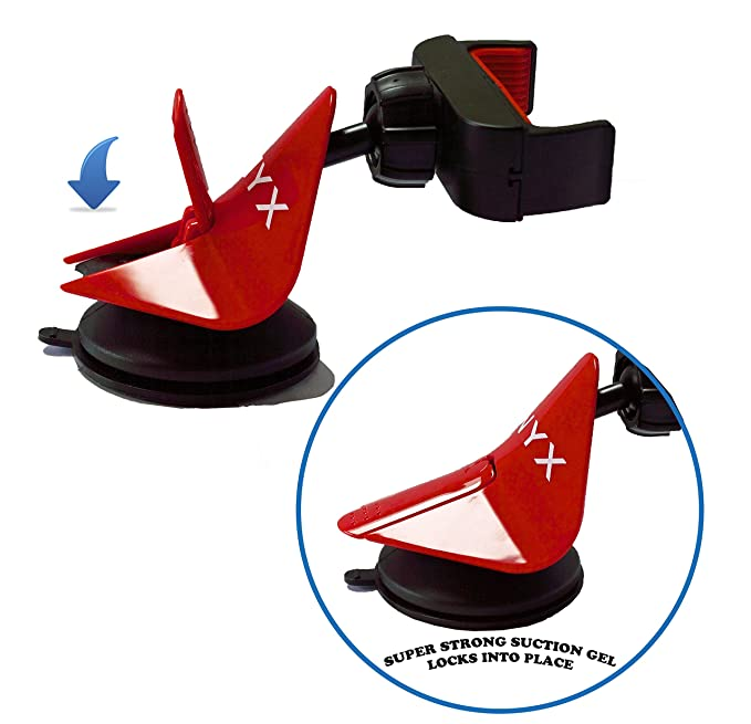 Onyx 1 Cell Phone Car Mount - Easygrip Smartphone Cradle
