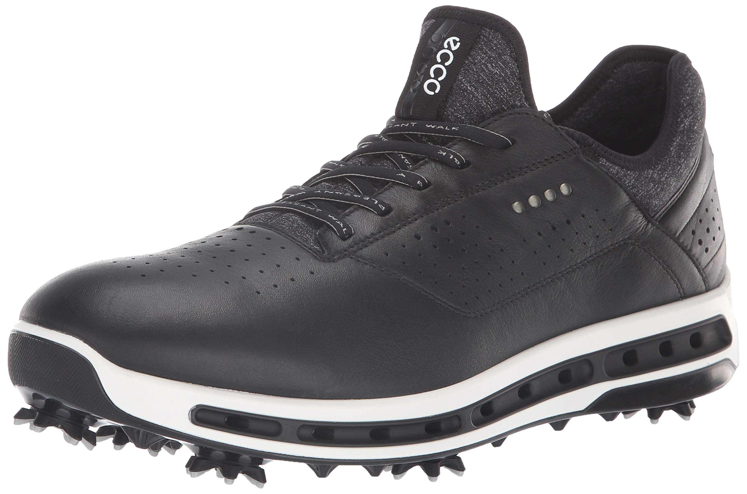 ECCO Men's Cool 18 Gore-tex Golf Shoe, Black, 8 M US by ECCO