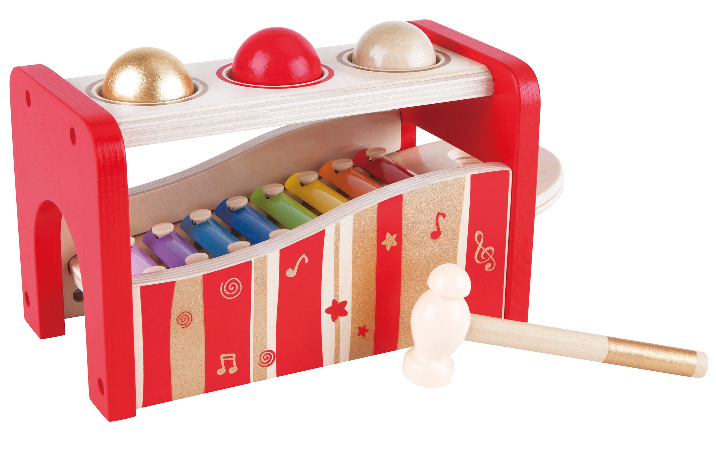 Hape - Pound and Tap Bench Music Set 30th Anniversary - 2016 LIMITED EDITION by Hape