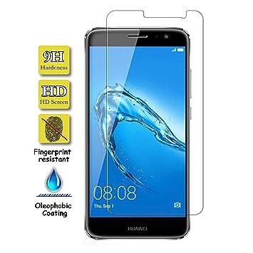 Protector de Pantalla Cristal Templado para Huawei Nova Plus [No Cubre el Borde Biselado] Calidad HD, Grosor 0,3mm, Alta Resistencia a Golpes 9H: Amazon.es: ...