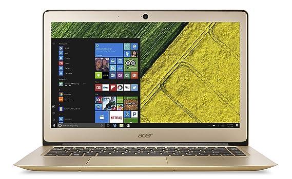 Acer Swift 3 NX.GKKSI.002 14-inch Laptop (7th Gen Intel Core i7-7500U/8GB/256GB/Windows 10 Home/Integrated Graphics), Gold