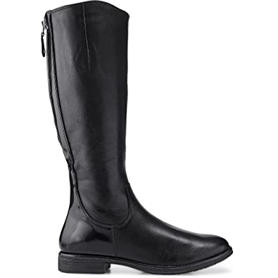 1bf86882ac935 Tamaris 1-25504-29 bottes & bottines femme cuir XS-arbre, schuhgröße_1:37  EU;Farbe:noir: Amazon.fr: Chaussures et Sacs