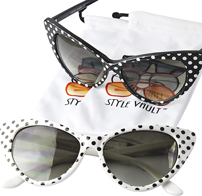 Amazon.com: Wm528-vp Style Vault - Gafas de sol retro ...