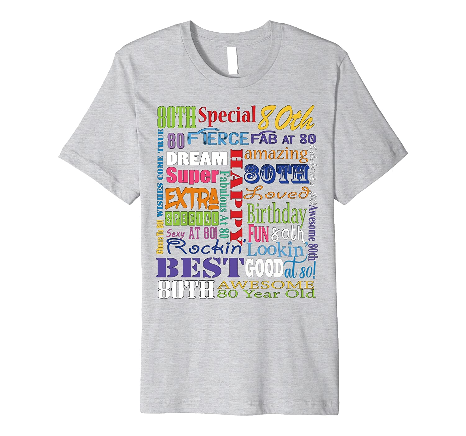 80th Birthday Party T Shirts