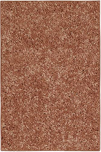 New Shag Collection Solid Color Rust 10 x13 – Area Rug