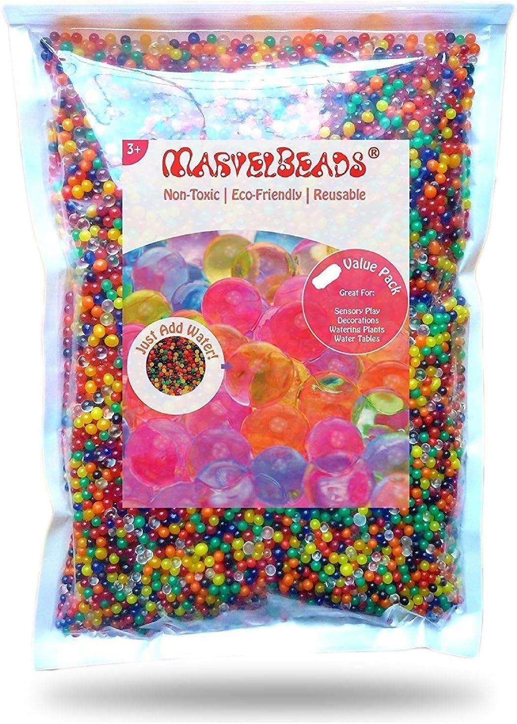 MarvelBeads Water Beads Rainbow Mix
