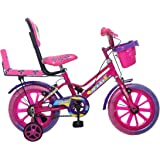 Ollmii™ 14 Inches Kids Cycle (Pink) for 3 to 5 Years