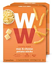 WW Mac & Cheese Potato Sticks - Gluten-Free, 2 SmartPoints - 2 Boxes (10 Count Total) - Weight Watchers Reimagined