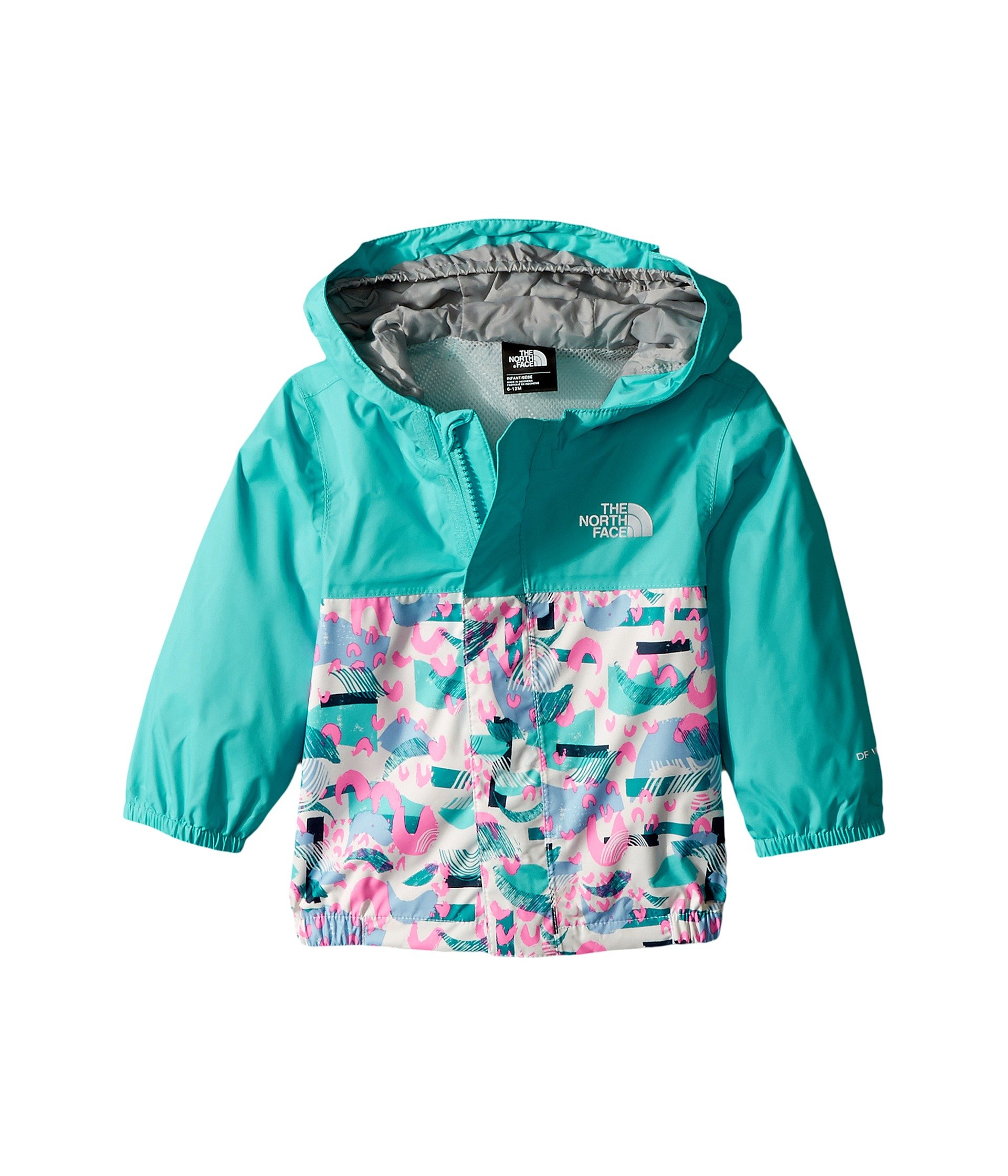The North Face Infant Tailout Rain Jacket Blue Curacao - 3M by The North Face