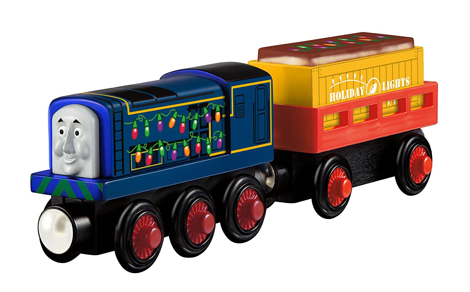 Fisher-Price Thomas the Train Wooden Railway Sidney's Holiday Special