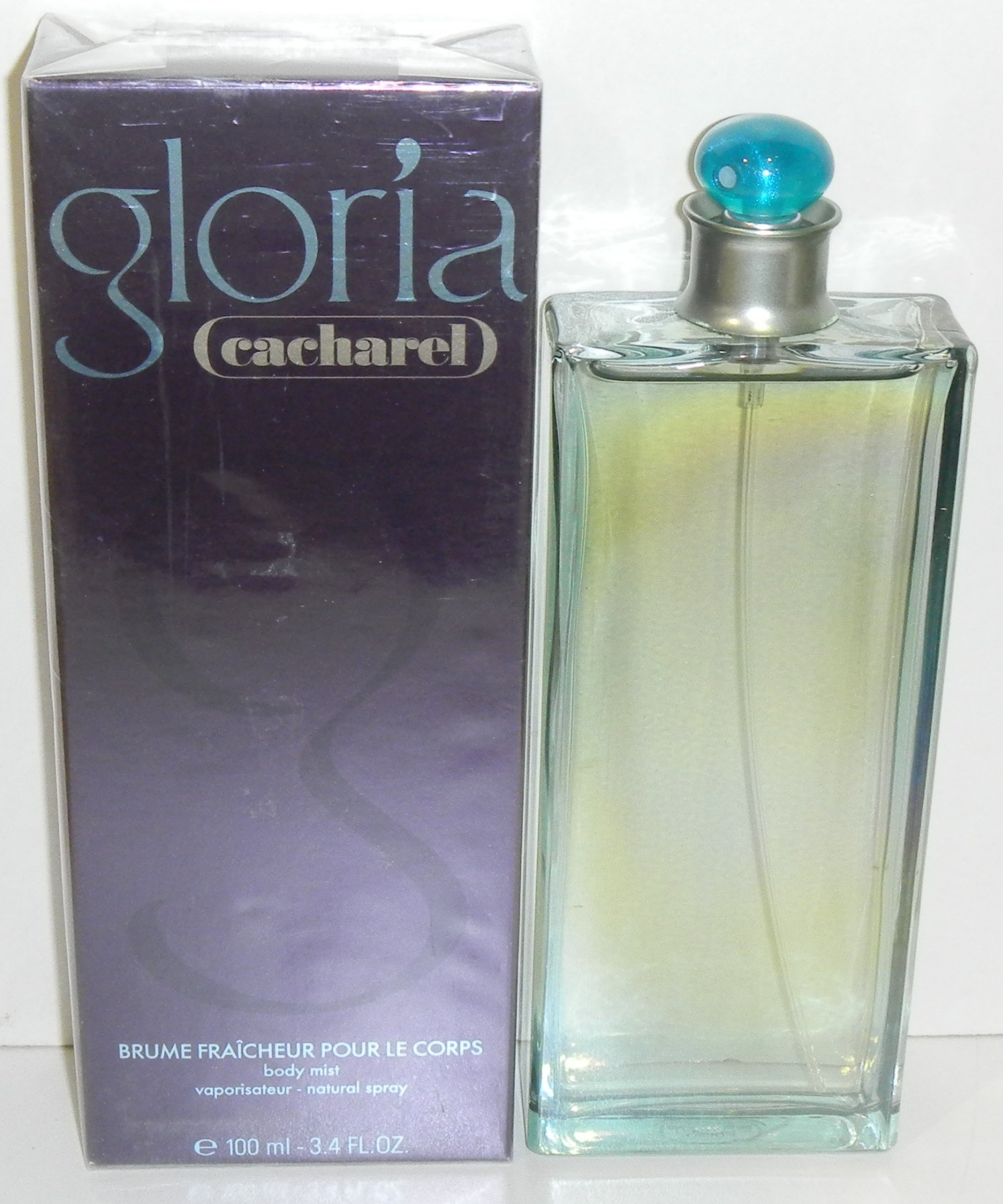 Cacharel Gloria Body Mist Natural Spray 100 Ml / 3.4 Oz.
