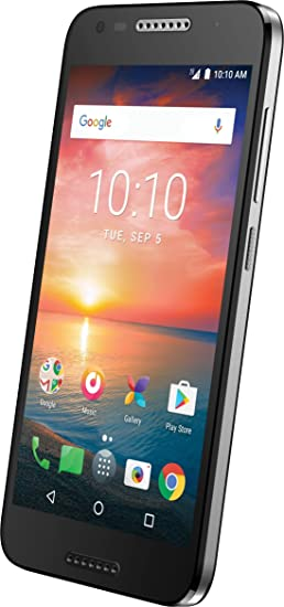 TCL LX1 16GB 5 0 inch Premium Smartphone with Vibrant HD Display 2GB RAM  Quad-Core– Slim-line 4G LTE Unlocked Android Phone with 8MP Camera – All  GSM