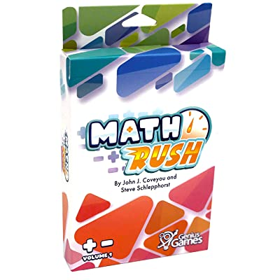 Math Rush: Addition & Subtraction (Volume 1) | A Cooperative Time-Based Math Card Game: Toys & Games