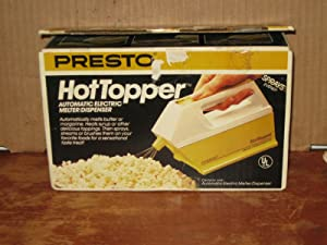 Hot Topper Automatic Electric Melter Dispenser by Presto