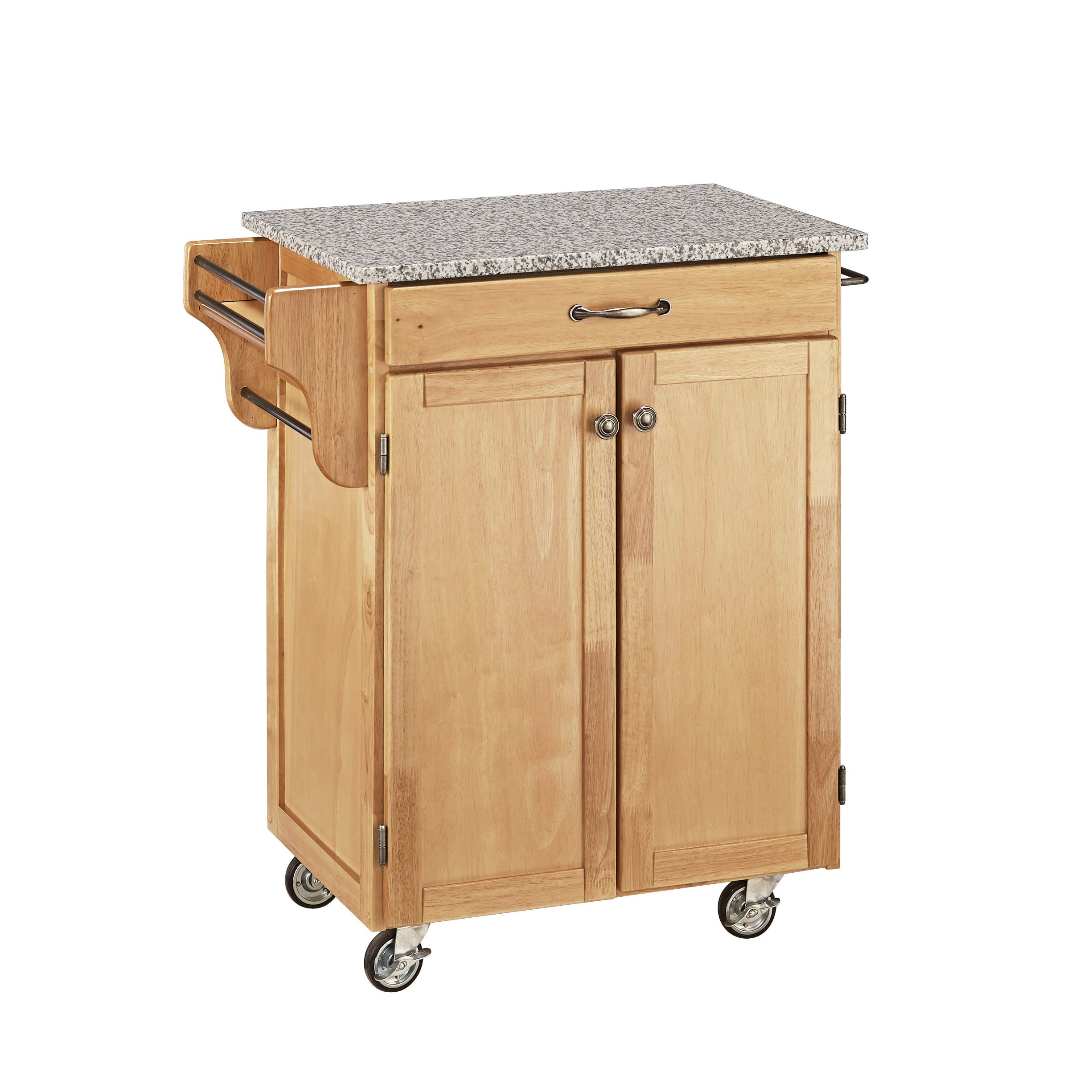 Home Styles 9001-0013 Create-a-Cart 9001 Series Cuisine Cart with Salt and Pepper Granite Top, Natural, 32-1/2-Inch by Home Styles