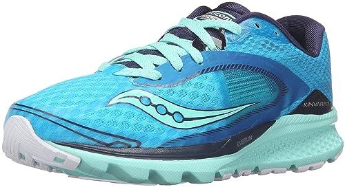 Saucony S10298-4, Zapatillas de Running para Mujer, (Turquesa/Uzul/Plata/Blanco/Negro), 41 EU: Amazon.es: Zapatos y complementos