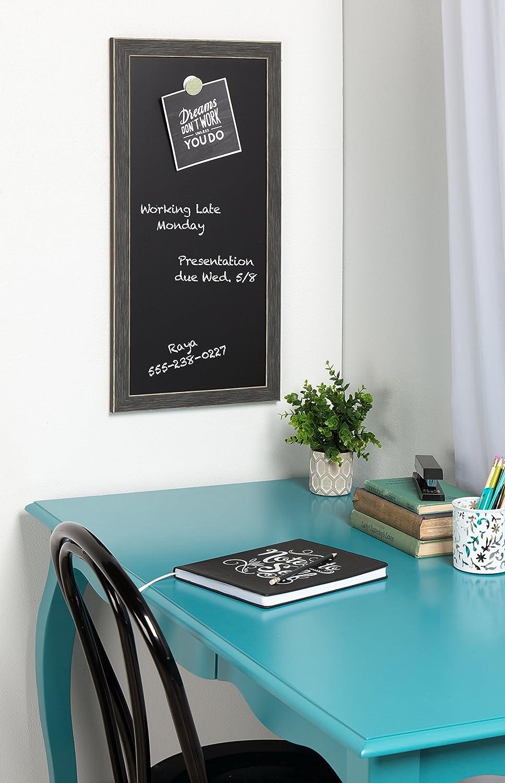Amazon.com: DesignOvation 210085 Wyeth Framed Magnetic Chalkboard ...