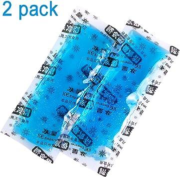 2 paquetes de paquetes de hielo - Paquetes de congelador ...