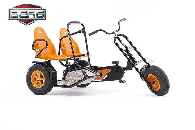 Amazon.com: Berg Duo Chopper BF 2 Seat Pedal Go Kart Negro ...