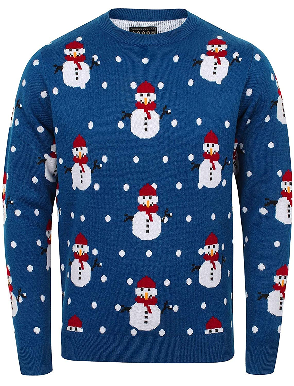 Herren WeihnachtsXmas Pullover von Seasons Greetings