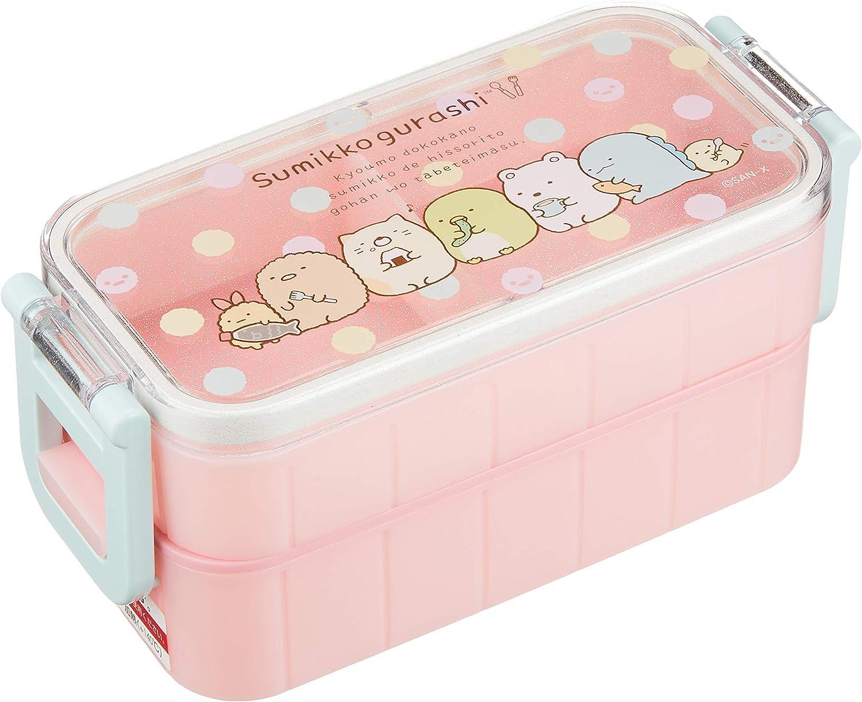 San-X Corner Sumikko Gurashi Two Tier Bento Lunch Box KY41101