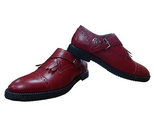 Armani Jeans 9250476A404, Mocasines para Mujer, Rot (Tango Red 17574), 36 EU: Amazon.es: Zapatos y complementos