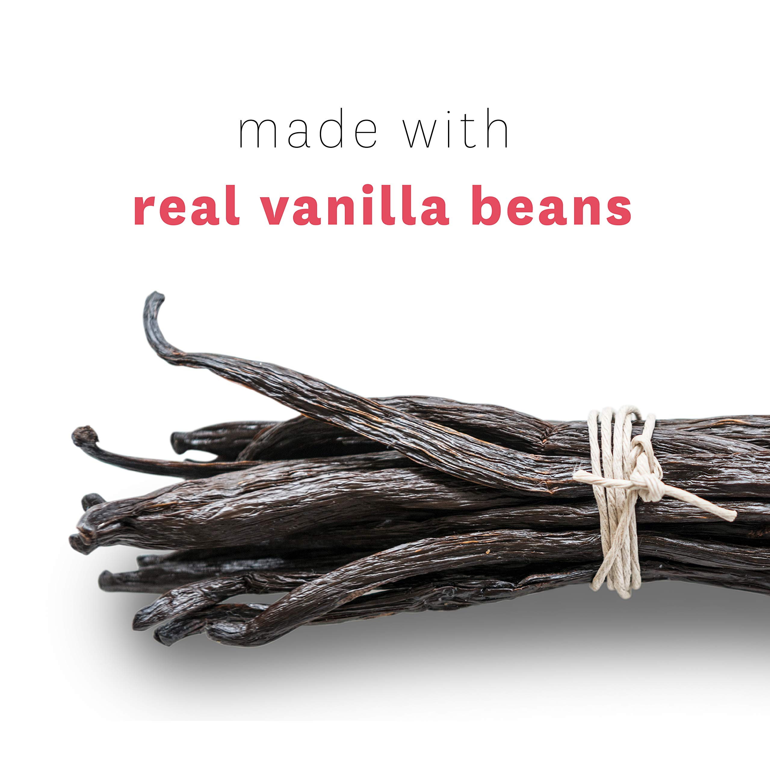 Heilala Vanilla Syrup - Premium Vanilla Bean Syrup Flavoring for Coffee, Cocktails, Pancakes, Ice Cream, 16.90 fl oz by Heilala Vanilla (Image #3)