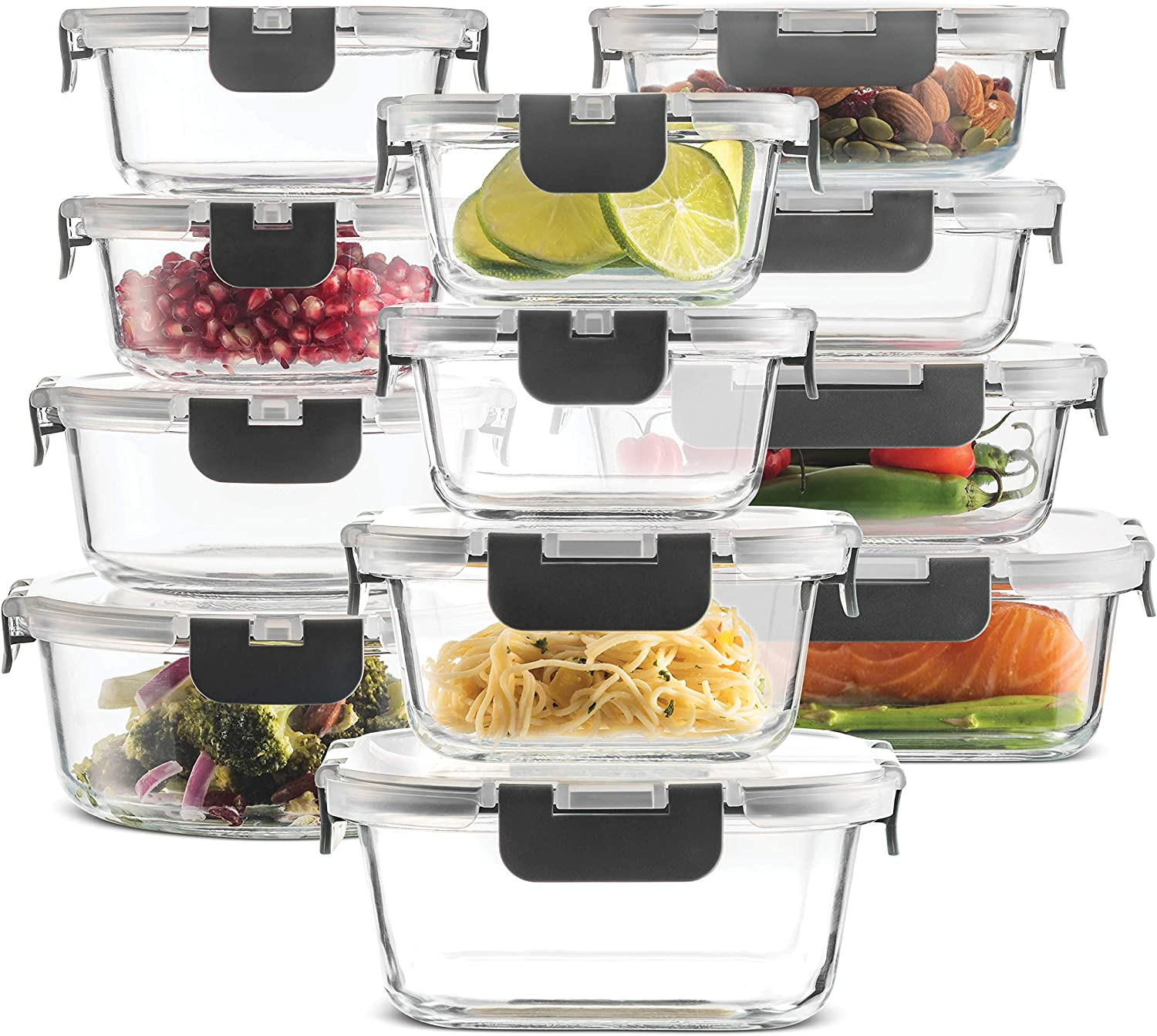 Superior Glass Food Storage Containers Set