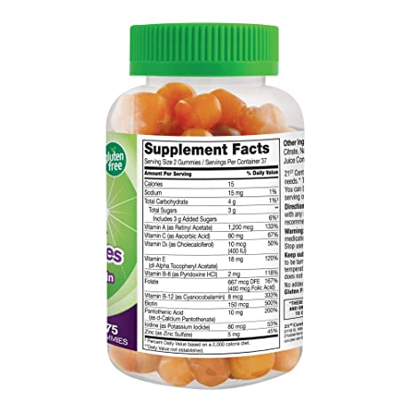 21st Century Vitajoy Multi Gummies, Orange/Cherry/Strawberry, 75 Count by 21st Century: Amazon.es: Salud y cuidado personal