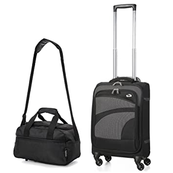Aerolite Ultra Lightweight Carry On Hand Cabin Luggage Spinner ...