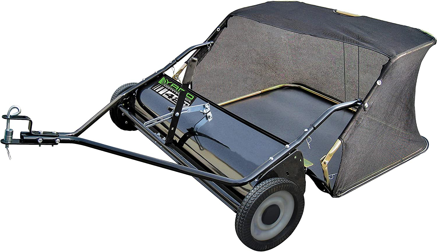 "Yard Commander 42"" Tow-Behind Lawn Sweeper"