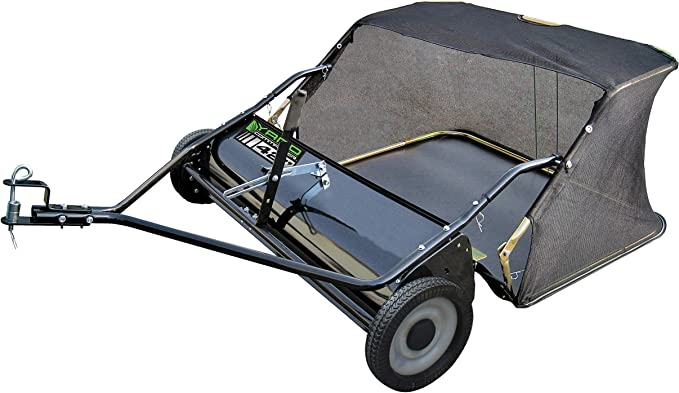 Yard Commander Lawn Sweeper - Best Sweeper for Grass Clippings