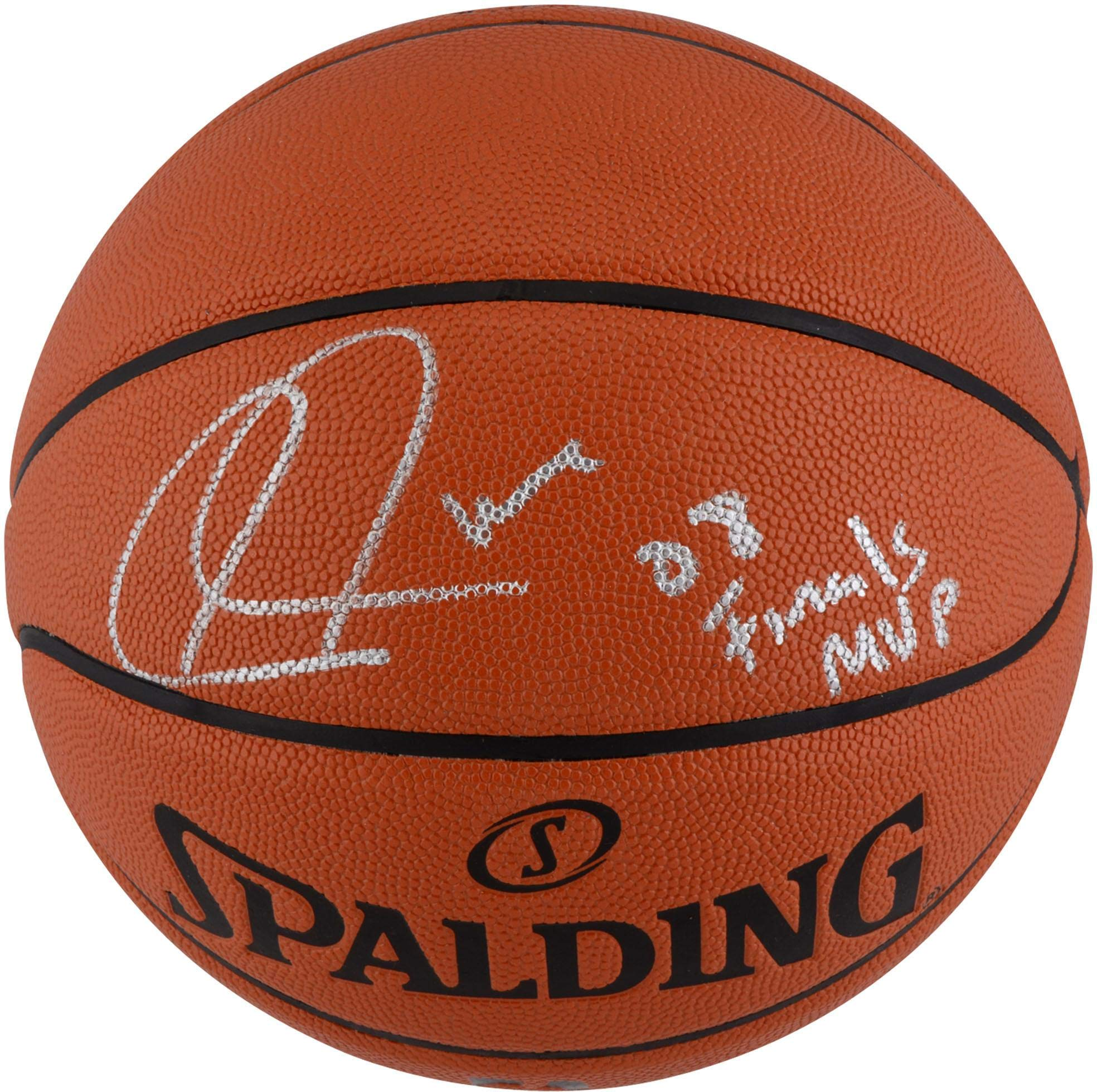"Paul Pierce Boston Celtics Autographed Indoor/Outdoor Basketball with""08 Finals MVP"" Inscription Fanatics Authentic Certified"