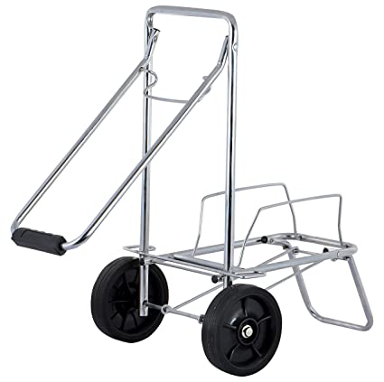 Kothi Lifestyle Signature Service Trolley (Silver and Black)