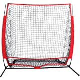 Minilism Baseball softball Practice Net & Training Net for Pitching, Batting, Hitting(2 sizes and colors available)