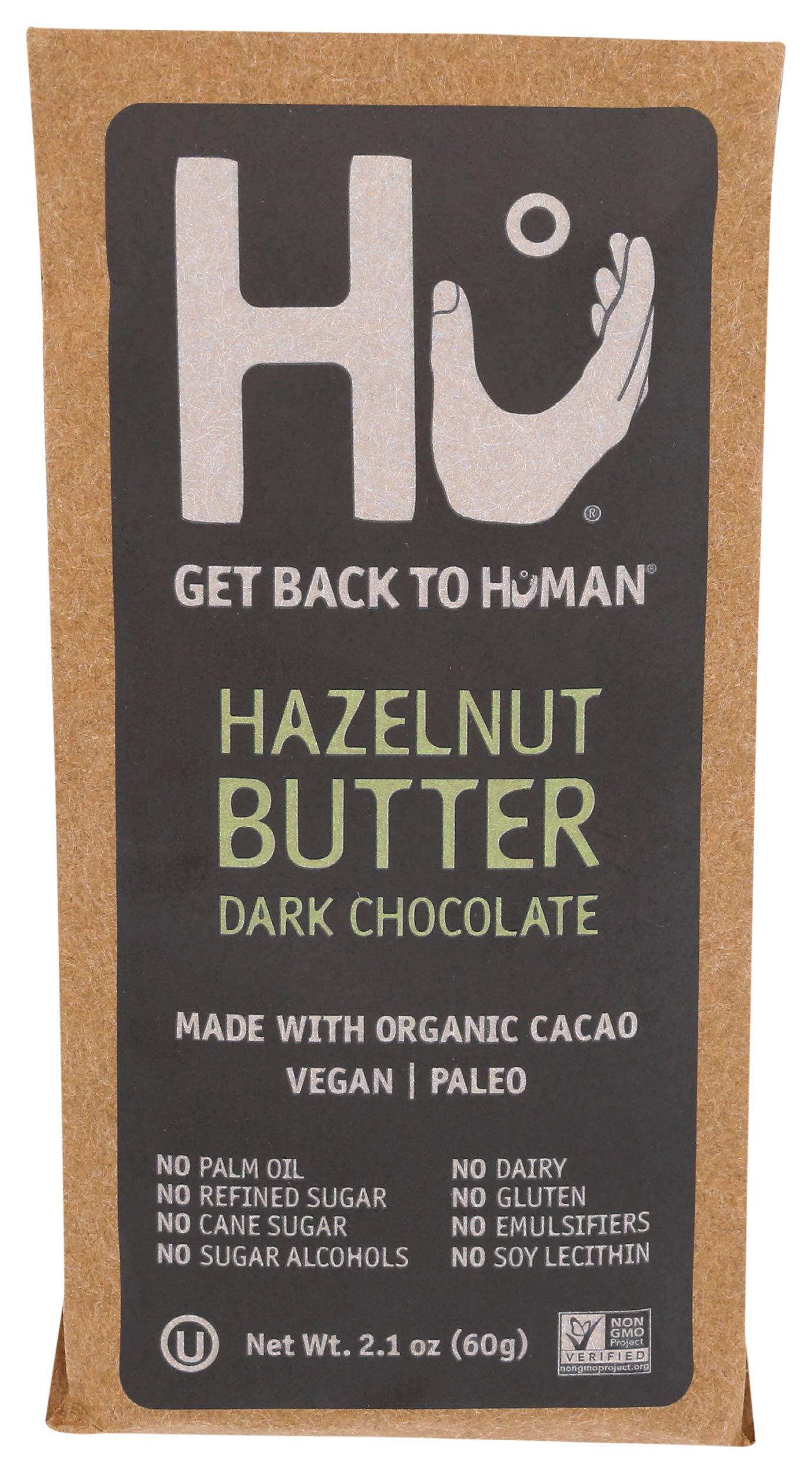 HU KITCHEN Hazelnut Praline Chocolate Bar, 2.1 OZ