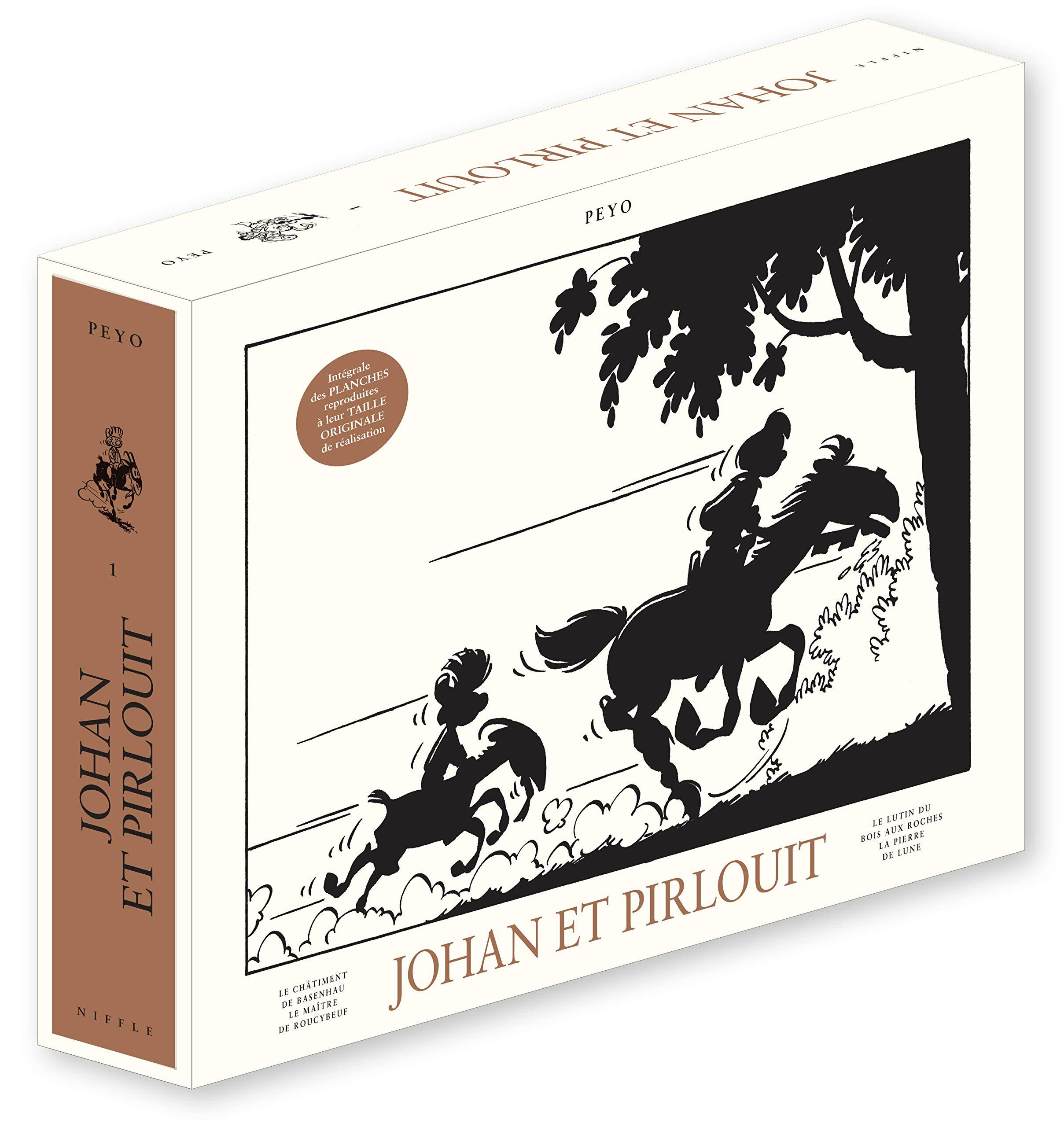 Johan Et Pirlouit Tome 1 Johan Et Pirlouit Integrale La Grande
