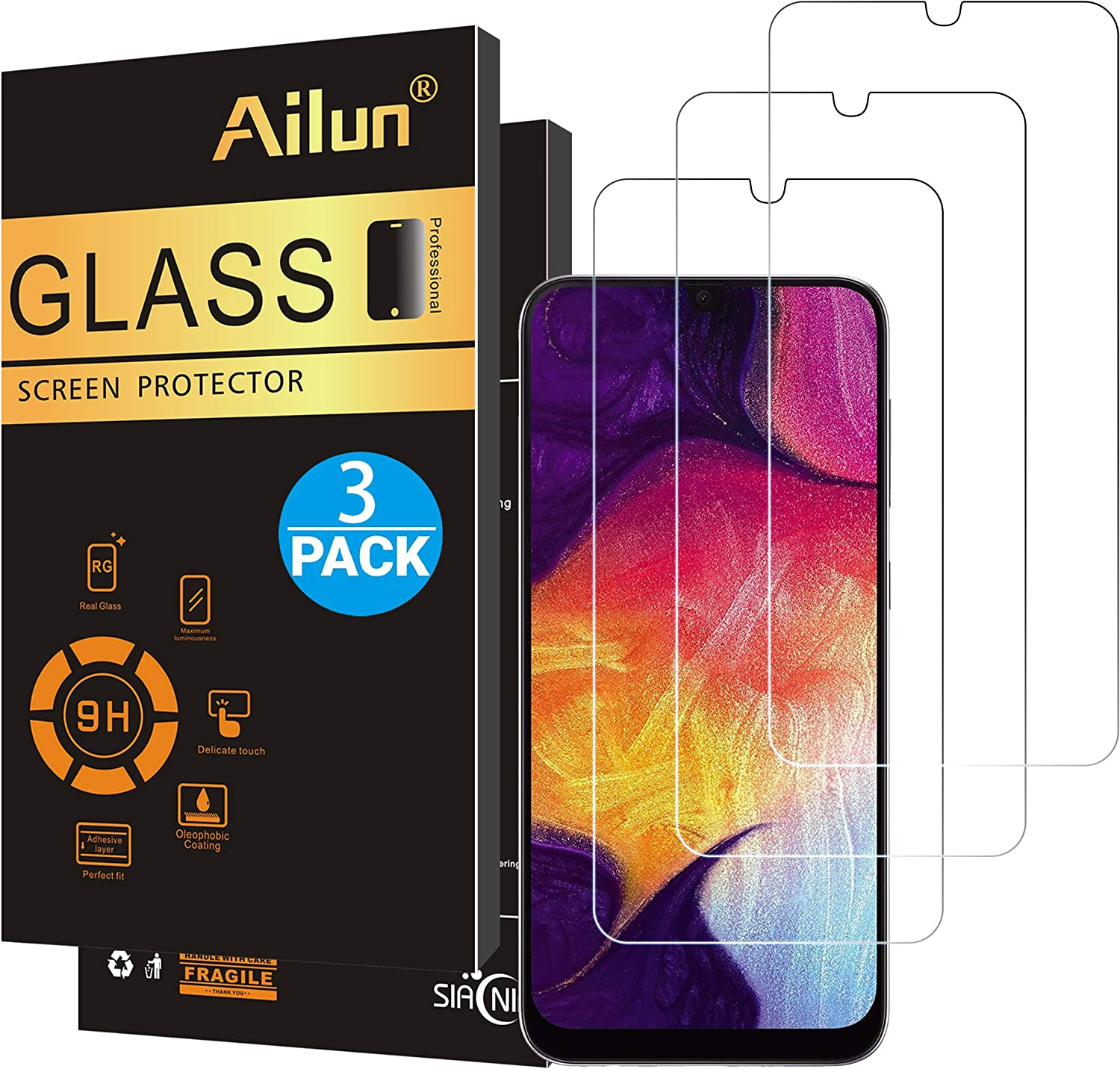 Best screen protector for Samsung a50
