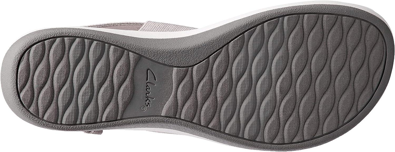 Clarks ARLA Jacory Women's Fashion Sandals Sand/white Elastic D