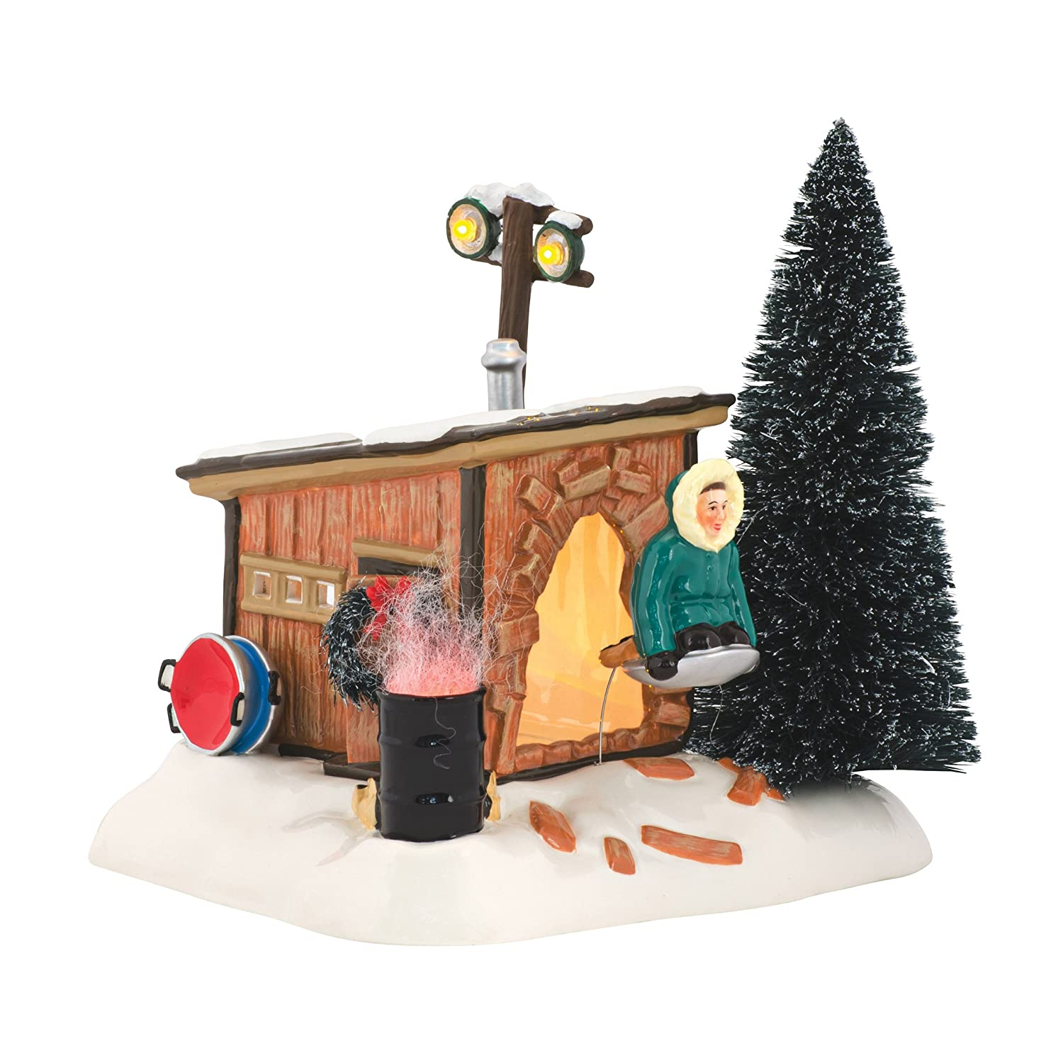 Department 56 National Lampoon's Christmas Vacation Griswold Sled Shack Lit Building 4042408