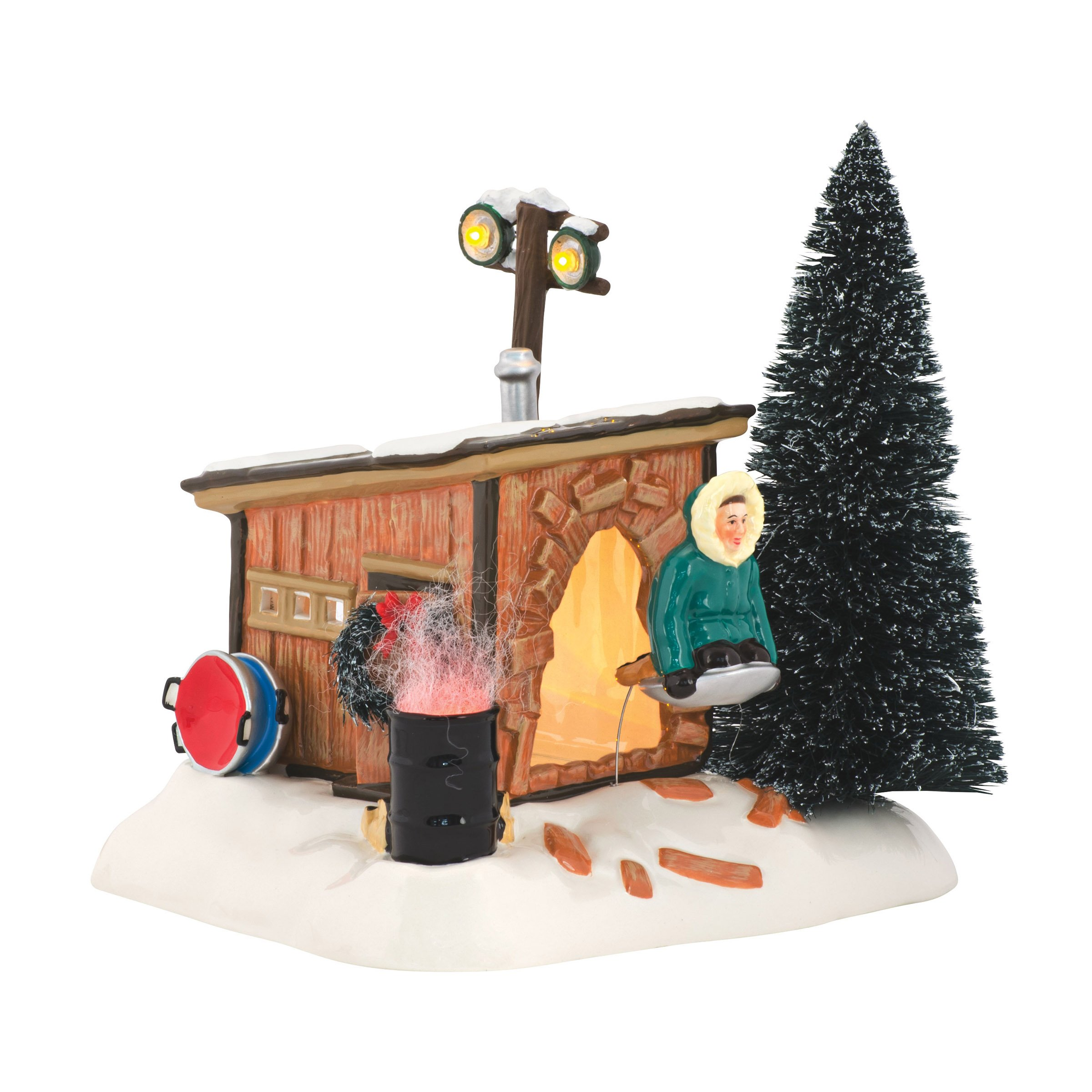Department 56 National Lampoon's Christmas Vacation Griswold Sled Shack Lit Building by Department 56