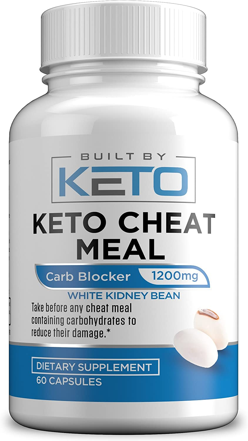 Amazon Com Carb Blocker 1200mg White Kidney Bean Extract Keto Cheat Meal Best Carb Starch Fat Blocker For The Ketogenic Diet Eat Carbs While On Keto 60 Capsules