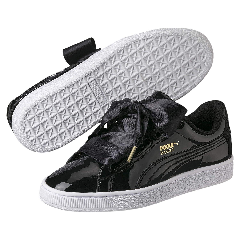 c26a51621 Puma Women's Basket Heart Patent WN's Low-Top Sneakers