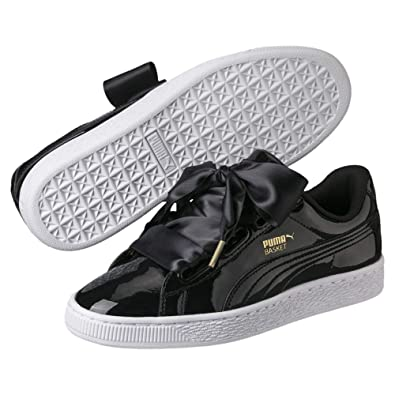 Puma Women's Basket Heart Patent WN's Low Top Sneakers
