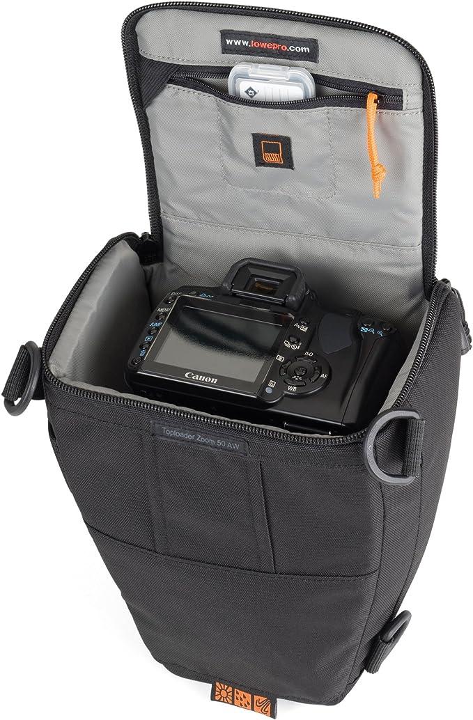 Lowepro Toploader Zoom 50 Aw Kameratasche Schwarz Kamera