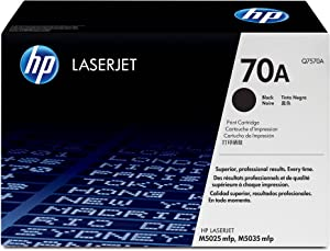 HP 70A | Q7570A | Toner Cartridge | Black