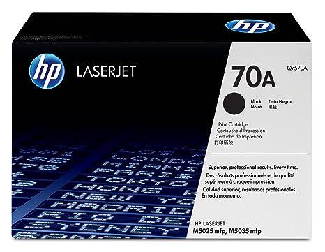 HP LaserJet Q7570A Print Cartridge (Black) Toner Cartridges at amazon