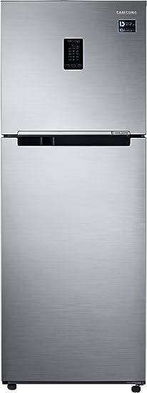 Samsung 324 L 3 Star Inverter Frost Free Double Door Refrigerator RT34M5538S8/HL, Elegant Inox, Convertible  Refrigerators
