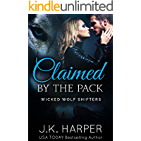 Claimed by the Pack: Cassie & Trevor part 2 (Wicked Wolf Shifters)