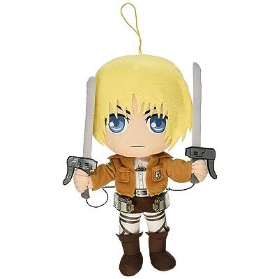 "Great Eastern Attack on Titan 9"" Armin Arlert Plush: Toys & Games"